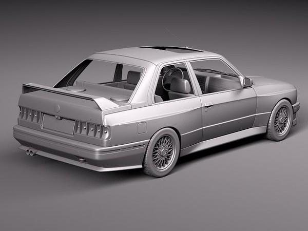 Bmw M3 E30 14 Piece Set Fiberglass Pesch Motorsport