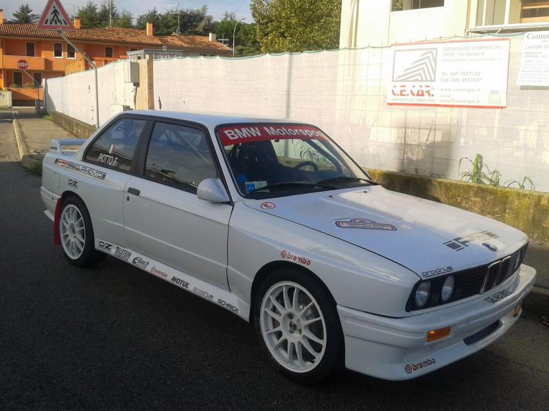 Bmw E30 M3 Fiberglass Widebody Kit 8 Piece Pesch