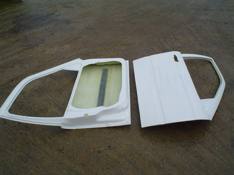 Fiberglass Front Doors For Bmw E36 Salon Pesch