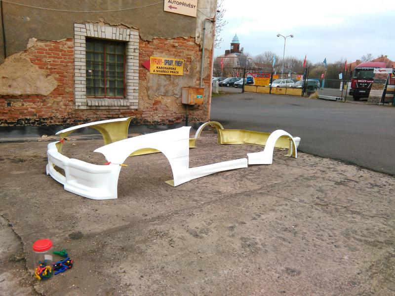 Bmw E36 Coupe Wide Body Kit Fiberglass Typ 1 Pesch