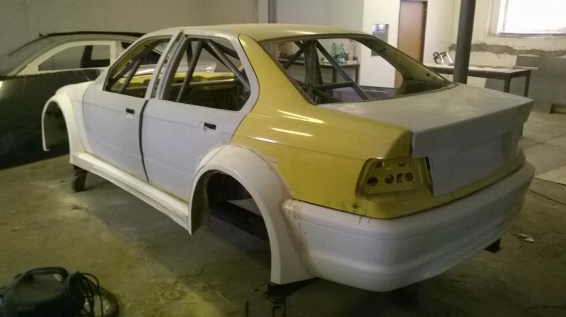 Bmw E36 Limousine Verbreiterung Satz Gfk Pesch